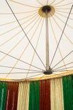 在帐篷下 免版税库存图片
