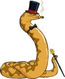 富有的蟒蛇 向量例证