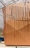 在干旱的区域的装饰使#02,商展2015年米兰成群 免版税库存图片