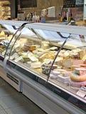 在干酪世界范围内 免版税库存照片
