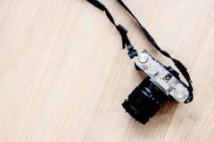 在平台面视图的照相机 免版税库存照片