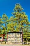 在平安神宫的缘故桶在京都 库存图片