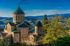 在库塔伊西,乔治亚附近的Gelati修道院 库存照片