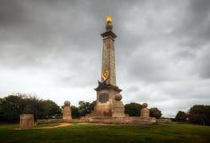 在库姆小山的第二座布尔战争纪念碑 免版税库存照片