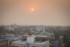 在库尔纳的看法在孟加拉国 库存图片