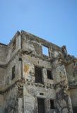 在废墟的大厦 免版税库存图片