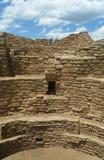 在废墟的天空在Mesa Verde 免版税库存图片