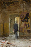 在废墟 库存图片