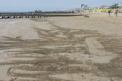 在度假在Lido二耶索洛的(在海滩) 免版税图库摄影