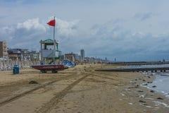 在度假在Lido二耶索洛的(在海滩) 免版税库存图片