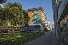 在度假在Lido二耶索洛的(在镇附近) 免版税库存图片