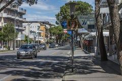 在度假在Lido二耶索洛的(在镇附近) 免版税图库摄影
