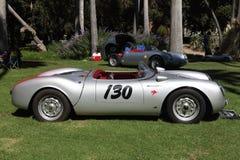 在庭院车展的Spyders在世外桃源,加州 免版税库存照片