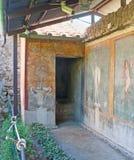 绘画在庭院里 免版税库存照片