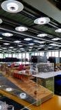 在建筑师罗杰斯Stirk港口办公室里面+成为伙伴 库存图片