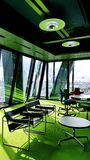 在建筑师罗杰斯Stirk港口办公室里面+成为伙伴 免版税库存照片
