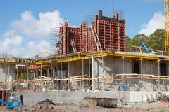 在建造场所 免版税图库摄影