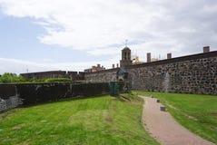 在开普敦入好希望遗产城堡的门  库存图片
