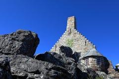 在开普敦附近的桌山在南非 免版税库存照片