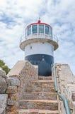 在开普角的历史的灯塔 库存图片