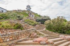 在开普角的历史的灯塔 免版税库存照片