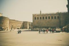 在开罗城堡,埃及的看法 库存照片