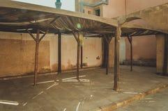 在开罗城堡,埃及的老监狱 免版税库存图片