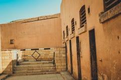 在开罗城堡,埃及的老监狱 库存图片