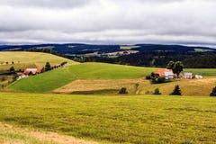 在弗莱堡附近的Höllental在Breisgau 库存图片