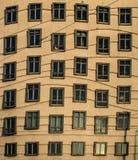 在弗雷德&姜布拉格的波浪窗口 免版税库存图片