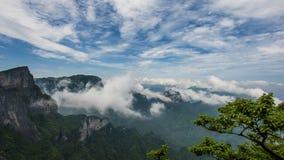 在张・杰Jia的中国山 免版税库存图片