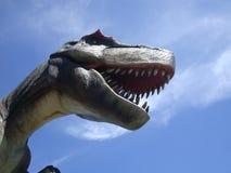 在当前时间的恐龙 免版税图库摄影