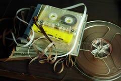 在录音室 免版税库存图片