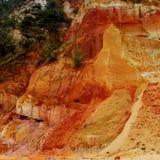 在彩虹海滩的峭壁 库存照片