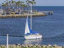 在彩虹港口附近的美好的场面 免版税图库摄影