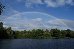 在彩虹的诺福克 免版税库存照片
