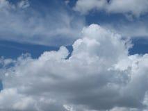 在得克萨斯下午期间的滚滚向前的海湾湿气修造 免版税库存图片