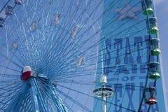 在得克萨斯状态市场的弗累斯大转轮  免版税库存照片