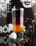 在德国颜色的鸡尾酒 免版税图库摄影