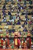 在德里3月11-13 2016古典舞蹈bharatnatyam的WCF 库存图片