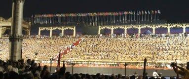 在德里3月11-13 2016巨大的汇聚的WCF 库存图片