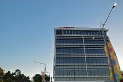 在悉尼奥林匹克公园的西部悉尼大学大厦 免版税库存照片