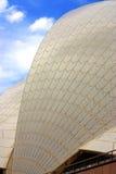 在悉尼歌剧院的陶瓷砖 库存图片
