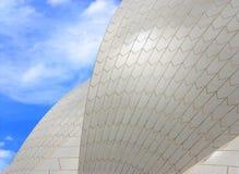 在悉尼歌剧院的陶瓷砖 免版税库存图片