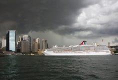 在悉尼的风暴 免版税库存图片