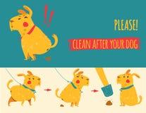 在您的狗以后清洗 免版税图库摄影