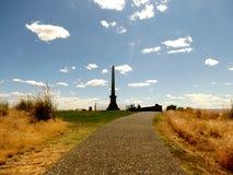 在惠特曼使命全国古迹的伟大的坟墓 免版税库存照片