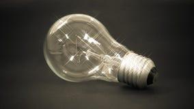 在想法概念的灯 免版税库存照片
