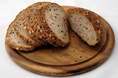 在意大利人上添面包 免版税库存图片