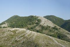 在意大利山的春天 库存图片